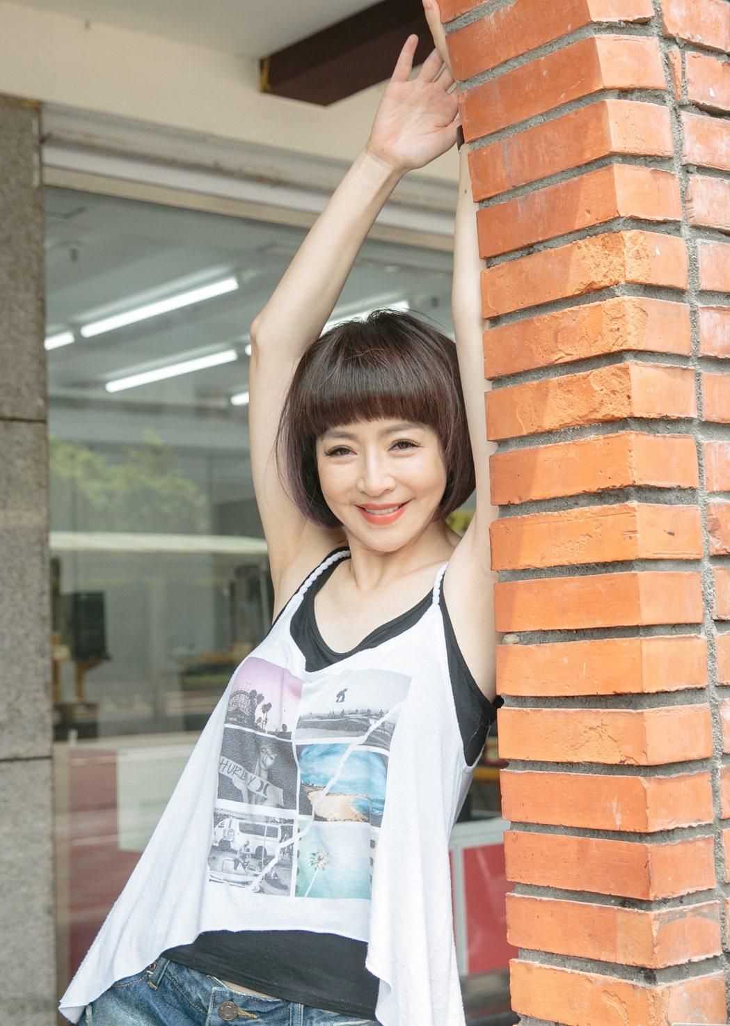 李芳雯早期拍過許多內衣廣告,被封「內衣皇后」。記者曾原信/攝影
