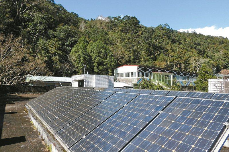 太陽能板若跟車庫棚架、頂樓加蓋等違章合蓋,要小心房屋稅增加。 (本報系資料庫)
