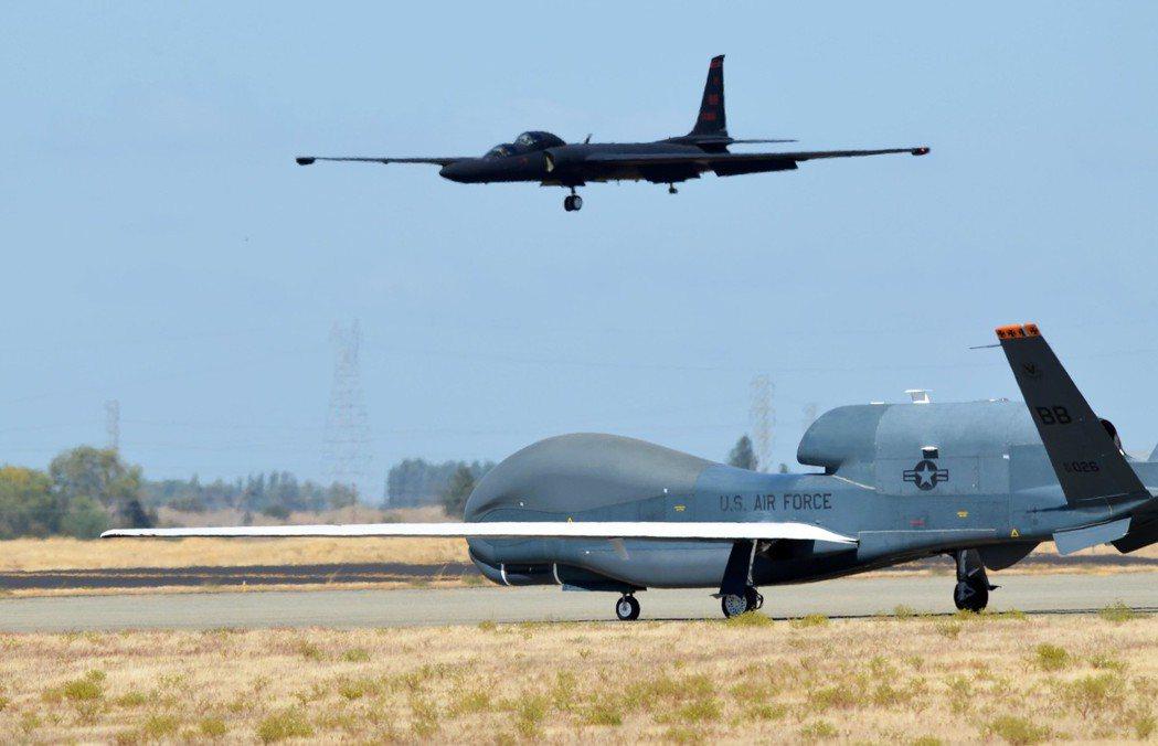 科技發展下,美軍大量以無人偵察機進行情報蒐集。 圖/美國空軍