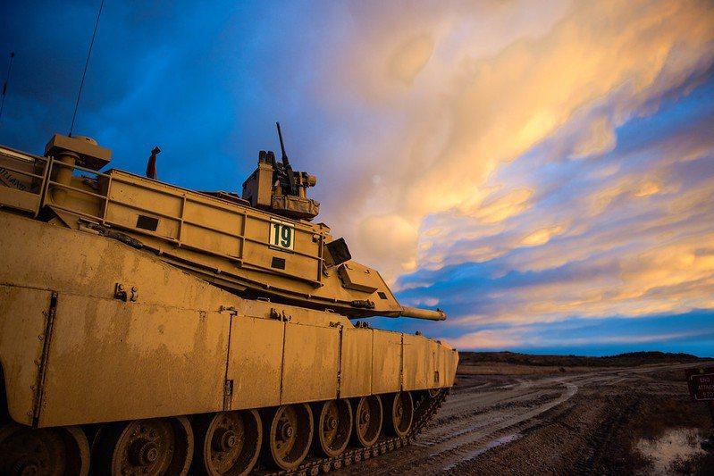我國向美採購108輛M1A2戰車。 圖/美國陸軍