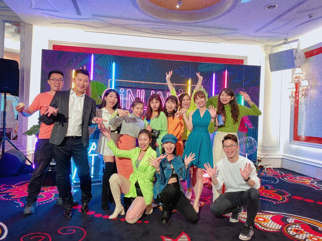 GINUNION團隊成員。台灣綠金家園/提供