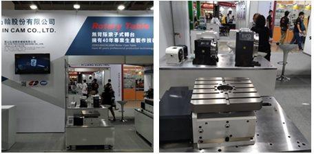 德士凸輪在2020台北國際自動化展,展出完整系列的分割器及滾子式分度盤。 翁永全...