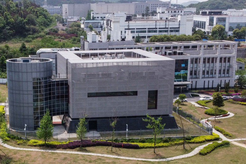 武漢病毒研究所。(Getty Images)