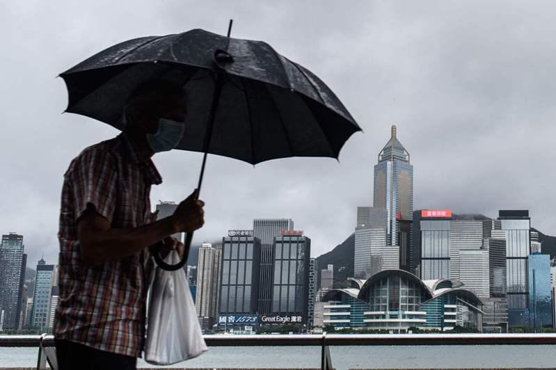 香港新冠肺炎確診個案數目創近月來的新低。美聯社