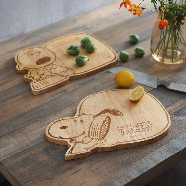 Snoopy系列造型橡膠木砧板史努比/查理布朗,原價899元/件,特價599元/...