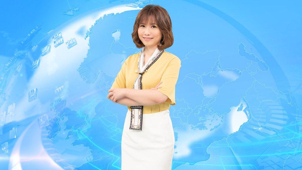 中視主播鍾季容接下「地球那一端」。圖/中視提供
