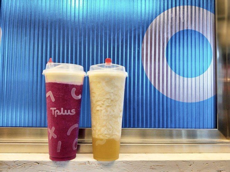 繼光香香雞XTplus茶加聯名店推出鳳梨芝士朵朵、火龍果芝士朵朵第2杯半價的方案...