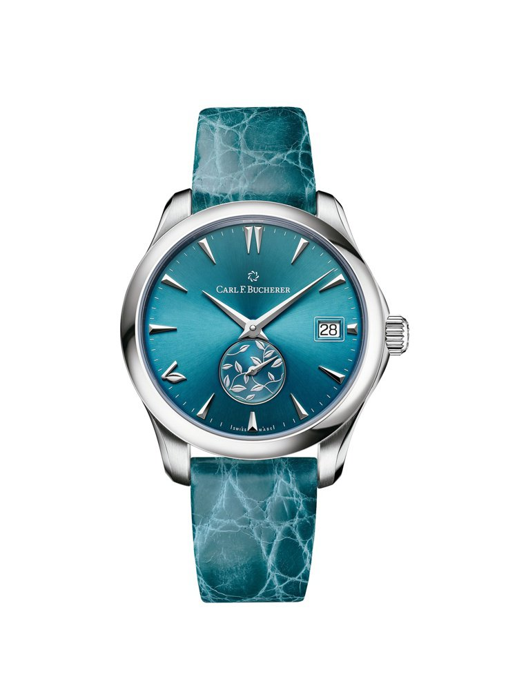 寶齊萊,馬利龍系列自動日曆LOVE腕表,精鋼,35.5毫米,時間、日期顯示,價格...