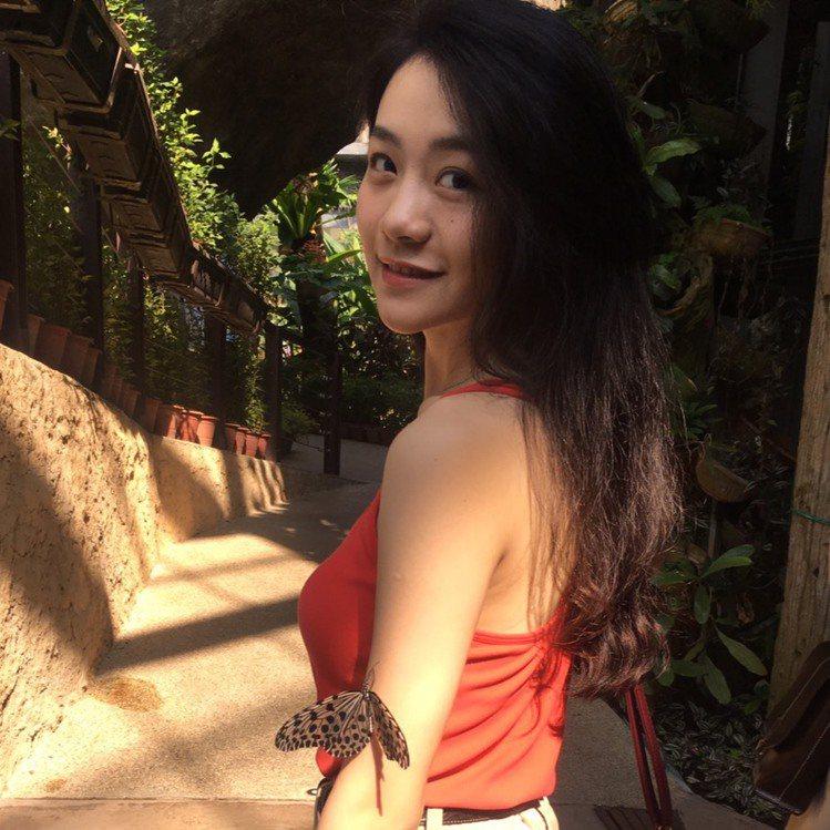 李玲葦飾演「返校」影集版學妹劉芸香。圖/李玲葦提供