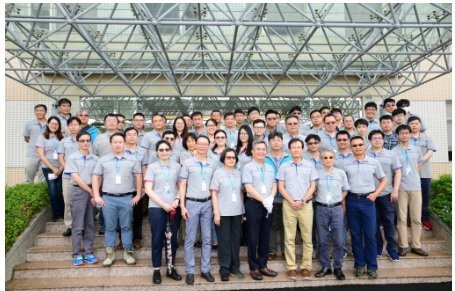 以董事長吳聲昌為首的達邁科技,是國際級的PI團隊。    翁永全/攝影