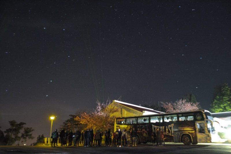 福壽山農場的星空導覽活動很夯,每周五、六、日晚上都有專人解說。 圖/福壽山農場提...