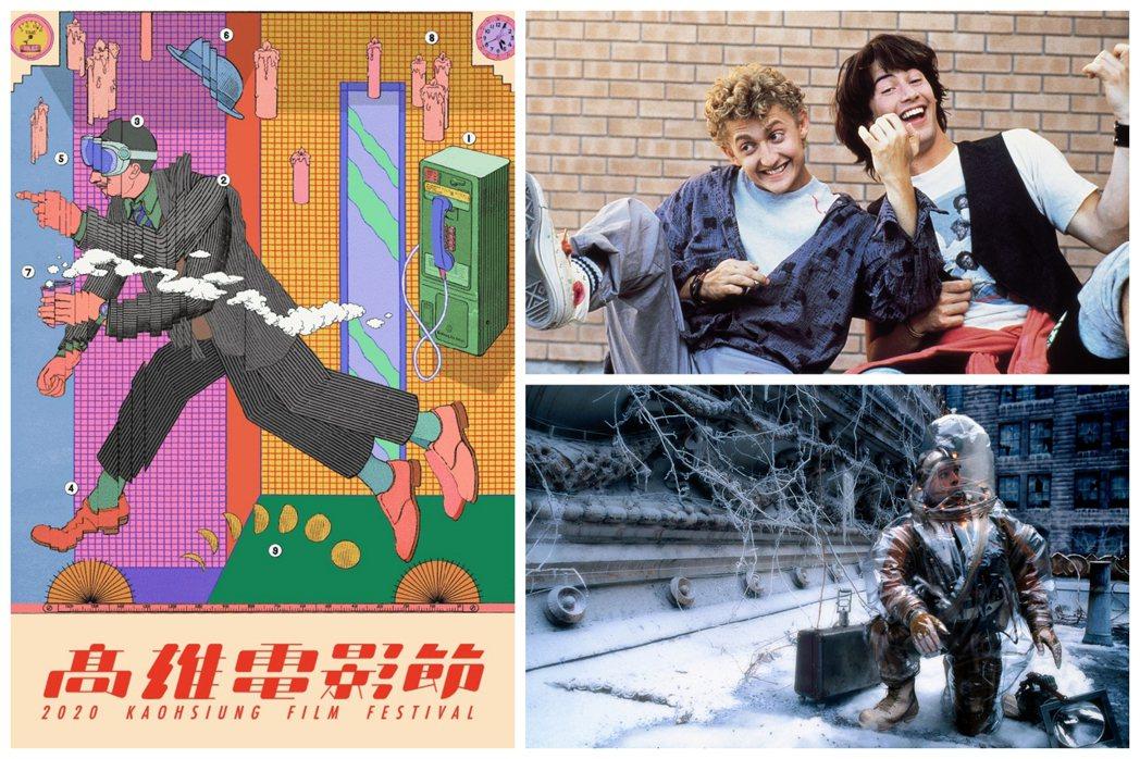2020高雄電影節公布影展主視覺及年度主題「時光幻遊」片單,精選多部以時空旅行為...