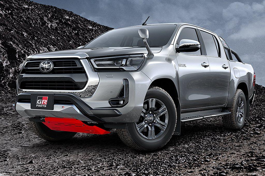 日本推出二度小改款Toyota Hilux,原廠GR Parts套件也同步登場。...
