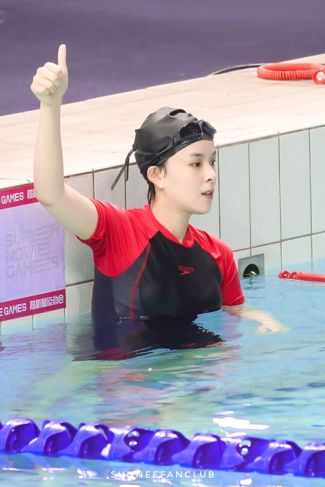 Sunnee楊芸晴獲得個人賽冠軍。圖/擷自微博