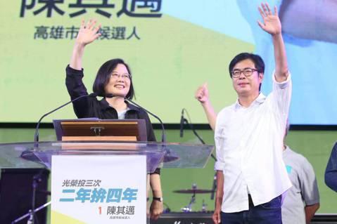 王宏恩/總統投蔡英文,補選卻沒投陳其邁?高雄三次投票結果比較