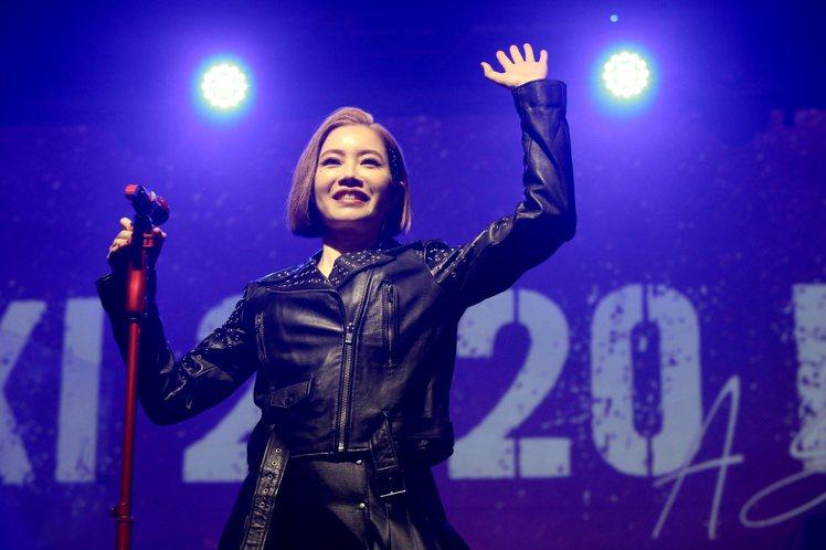 徐懷鈺「你約我在夏天見面」演唱會。記者林俊良/攝影