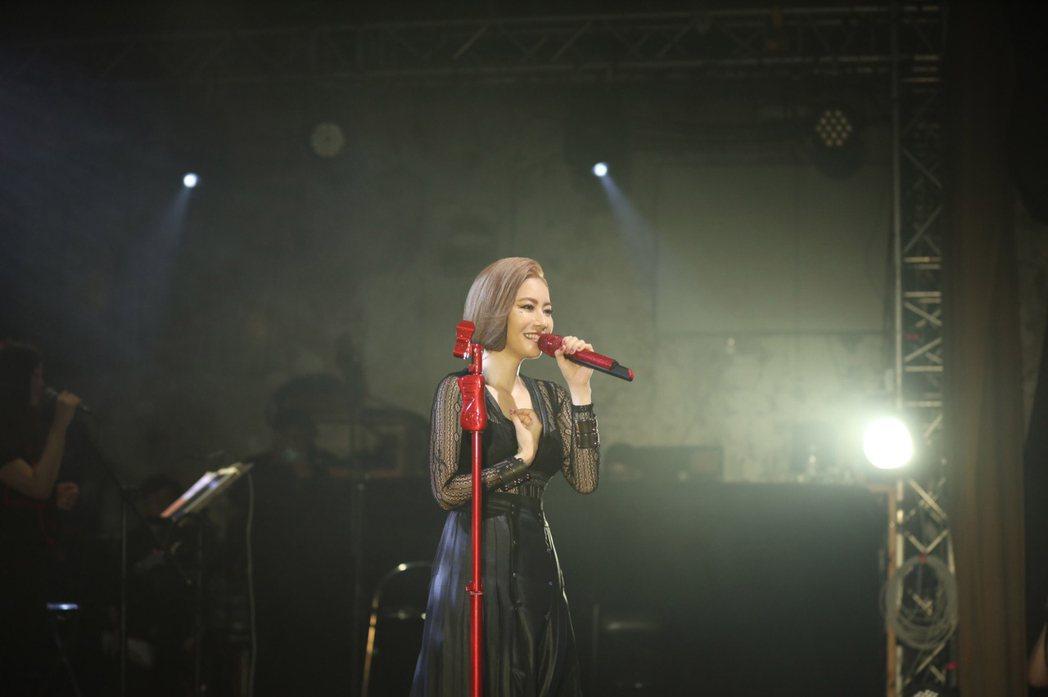 徐懷鈺「你約我在夏天見面」演唱會。圖/Yuki工作室提供