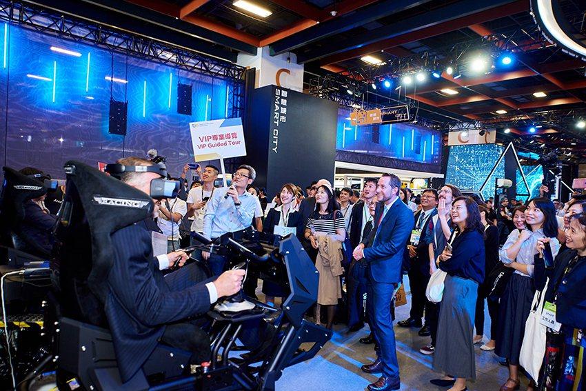 2019台灣創新技術博覽會吸引國內外眾多人士駐足參觀。 工研院/提供
