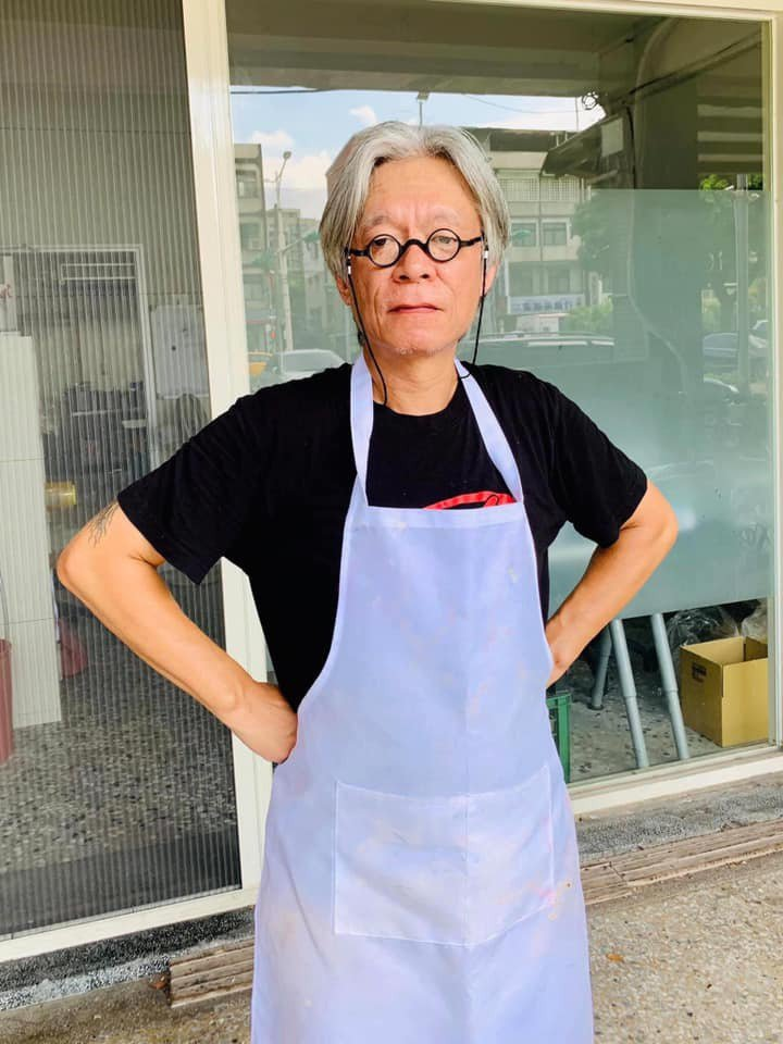 鼓手姜永正老師。叁笑專業職人製餅/提供