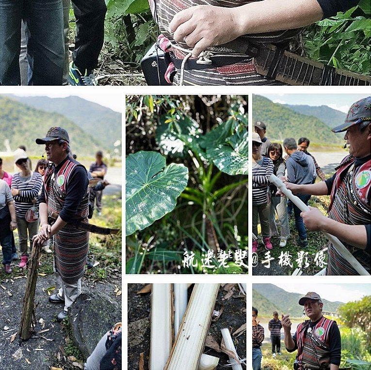 跟隨勇士瞭解山中求生、維生的原住民生態,這位勇士說山林中樣樣是寶,也處聽聞他們在山上是如何「野外求生」、生火做記號,以及辨識植物而加以利用如數家珍,不免對他們維護原味生活的毅力,大為讚佩。