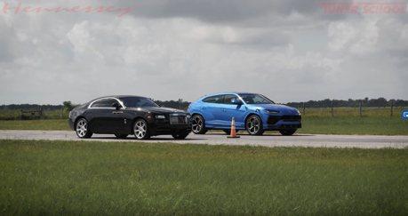 影/750hp改裝Lamborghini Urus挑戰Rolls-Royce?