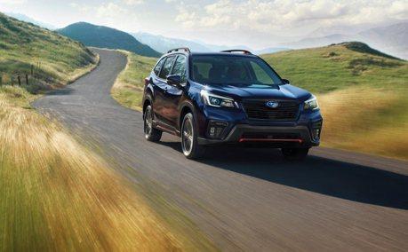 價格只小漲 2021年式美規Subaru Forester安全升級上市!