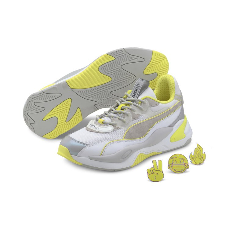 PUMA與emoji®聯名系列RS-2K鞋4,280元。圖/PUMA提供