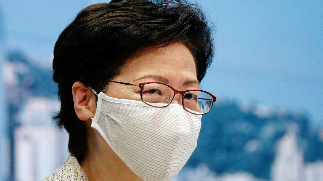 香港特首林鄭月娥宣布,9月1日展開新冠病毒全民普篩。 路透