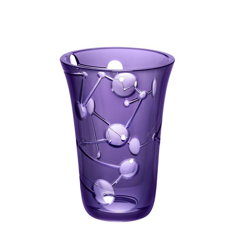Saint-Louis聖路易水晶Comète系列小花瓶(紫色水晶)/58,310...