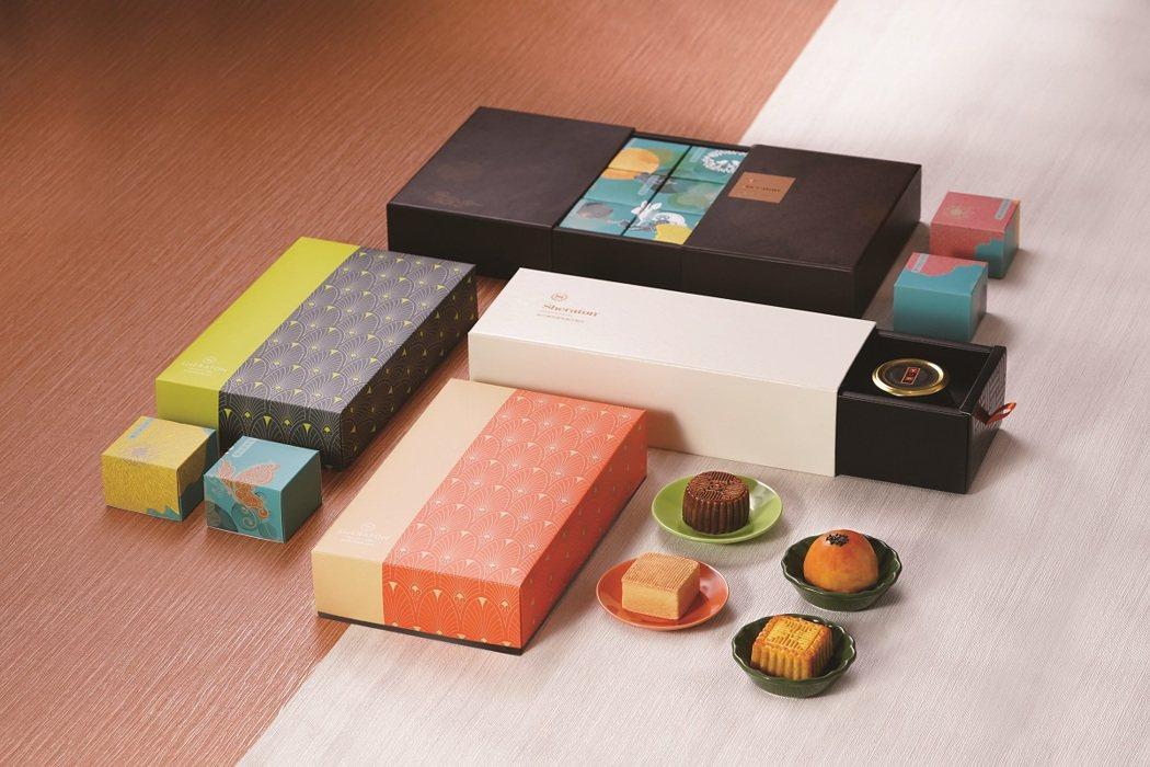 新竹喜來登於即日起至9月11日,提前推出中秋禮盒早鳥預購85折優惠。圖/業者提供