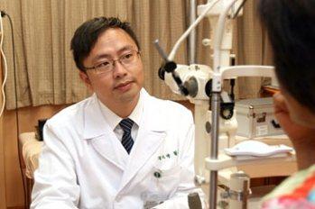 台中慈濟醫院眼科部主治醫師周兆峰 圖/台中慈濟提供