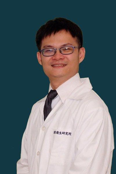 國衛院生技與藥物研究所助研究員王文傑。圖/王文傑提供