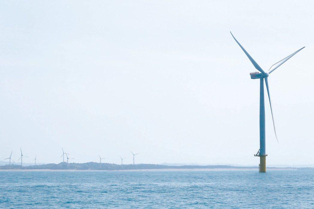 離岸風電投資額將逐年倍增,預計2022年帶動電力及燃氣供應業投資比重將升至近三成...