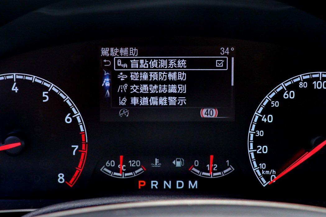 Focus ST Wagon同樣配備多樣化的主動安全配備。 記者陳威任/攝影