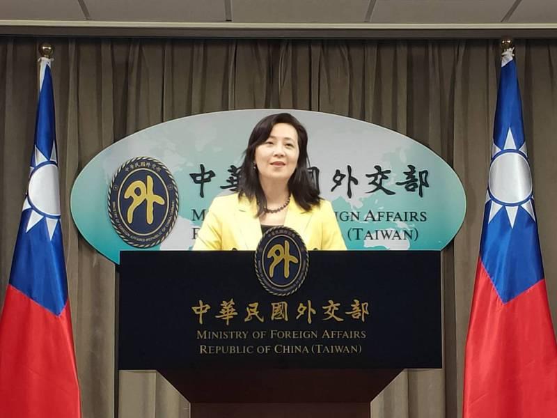 馬英九今天表示,不贊成蔡英文總統的錯誤政策,「輕率把國家推到戰爭邊緣」;外交部今天表示,對於這種反外交、反國安的謬論,外交部不會受到影響。圖為外交部發言人歐江安。 報系資料照/記者徐偉真攝影
