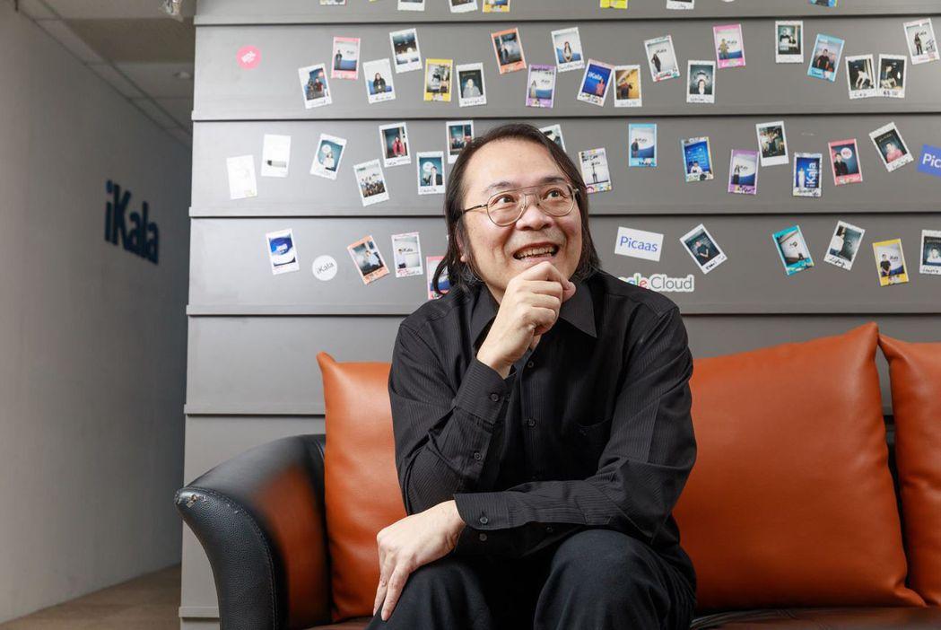 在Google任職15年的簡立峰,今年起投入AI新創領域。圖片來源:邱劍英攝