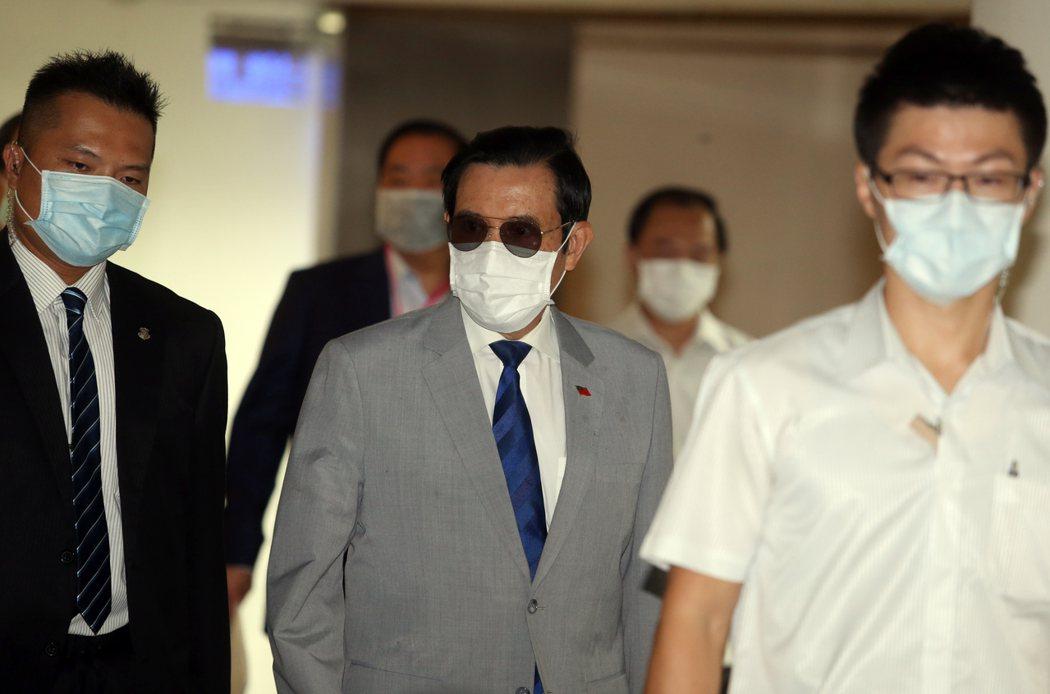 前總統馬英九。 聯合報系記者曾吉松/攝影