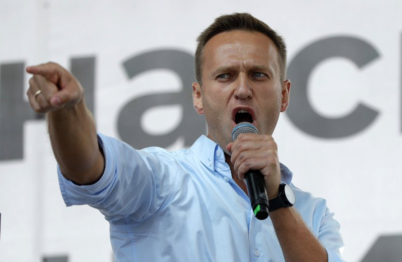 俄羅斯反對派領袖納瓦尼(Alexei Navalny)。 美聯社