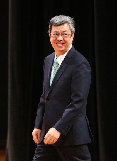 前副總統陳建仁在臉書發文,批評彰化縣調查是「失真的調查」。 圖/聯合報系資料照片