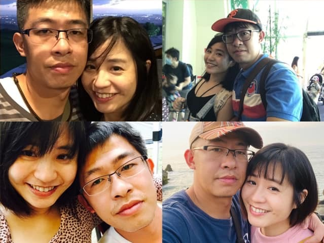 女人的幸福來自於男人真誠、用心的對待,「老公!情人節快樂!我愛你。」圖//陳媛媛...