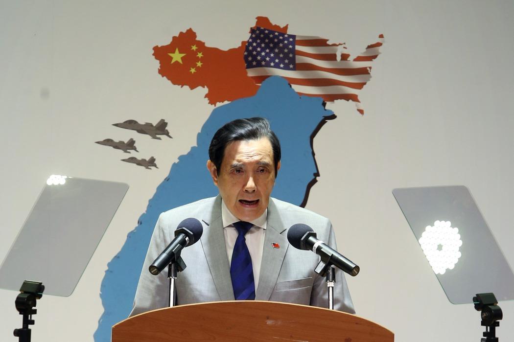 前總統馬英九。 記者曾吉松/攝影
