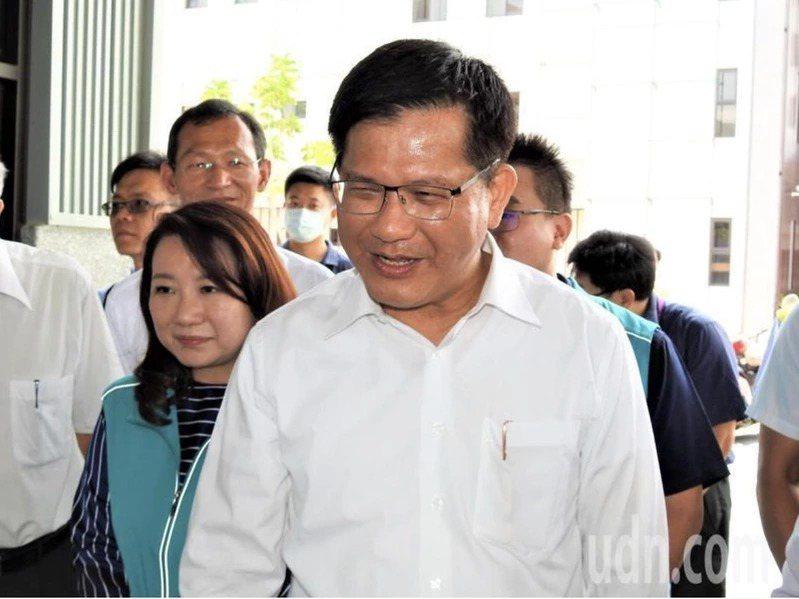 交通部長林佳龍。 聯合報系資料照