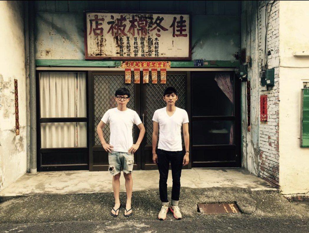 游小白(左)、曾少宗感情好。圖/TVBS提供