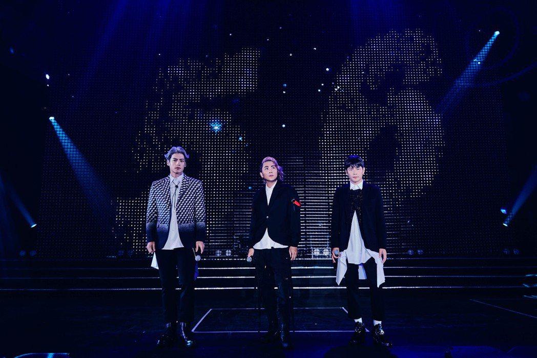5566今晚登高雄巨蛋開唱,解鎖高雄首唱。圖/華貴娛樂提供