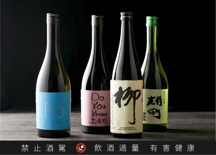 乾杯集團自9月起,每月推出一款精選清酒,於旗下4大品牌餐廳提供單杯200元的優惠...