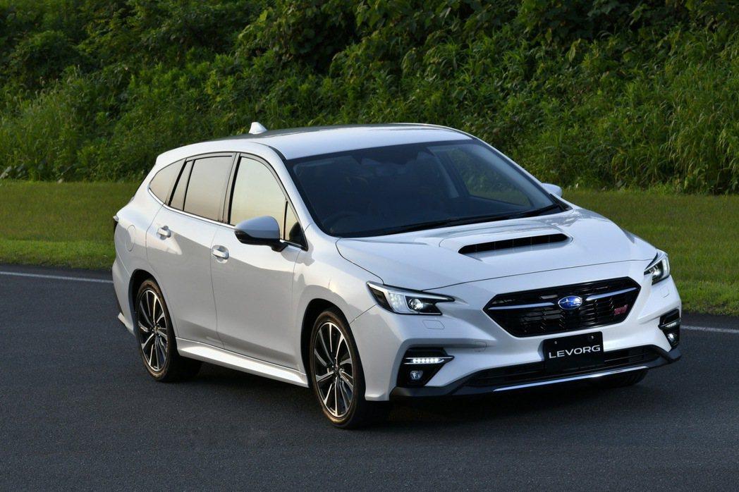 New Subaru Levorg STI Sport。 摘自Subaru.jp