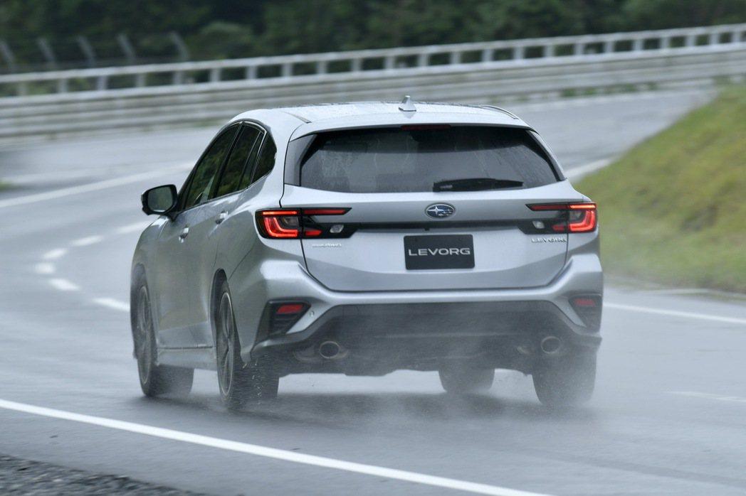 New Subaru Levorg。 摘自Subaru.jp