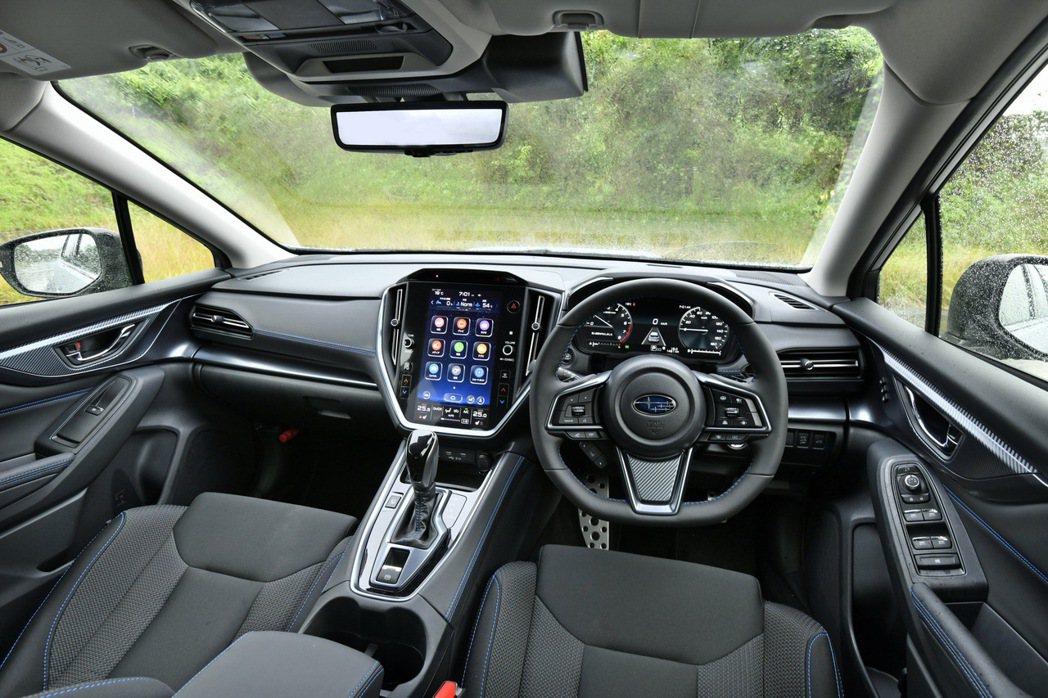 Subaru新世代內裝鋪陳已經率先在美規Legacy上見過。 摘自Subaru....