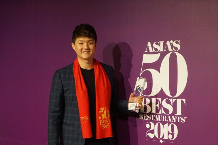 台中JL Studio主廚林恬耀,2020年入選「亞洲50最佳餐廳」。圖/聯合報...