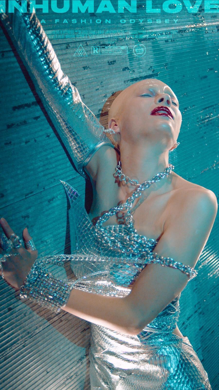 「Inhuman Love」拍出新北市的時尚未來感!圖/經紀人提供